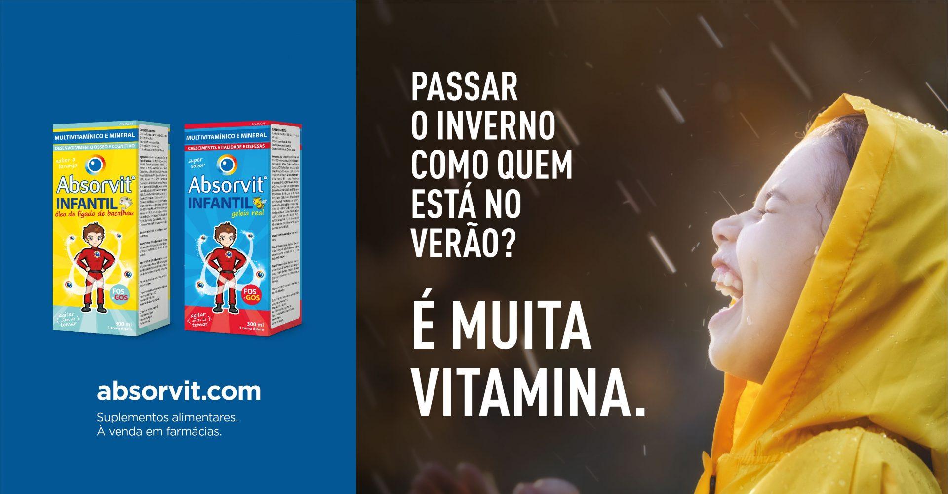 ABSORVIT VITAMINAS PARA CRIANÇAS