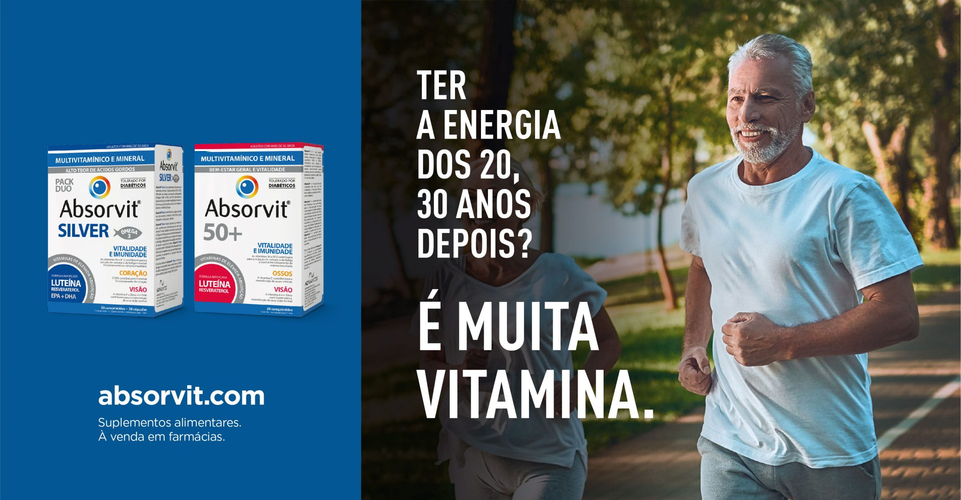 ABSORVIT VITAMINAS 50+
