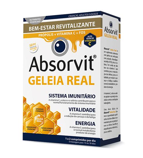 ABSORVIT GELEIA REAL COMPRIMIDOS