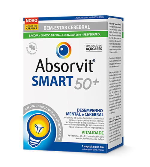 ABSORVIT SMART 50+ CÁPSULAS