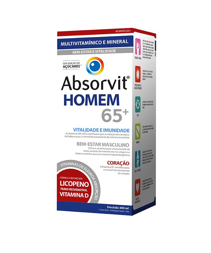 ABSORVIT HOMEM 65+