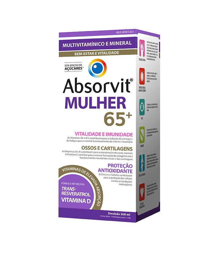 ABSORVIT MULHER 65+